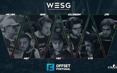 OFFSET apresentam equipa de fox para WESG