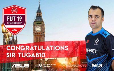Tuga810 qualificado para a FUT Champions CUP #6  FIFA19 em Londres