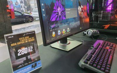 Queres testar o monitor ASUS TUF mais rápido do mundo?