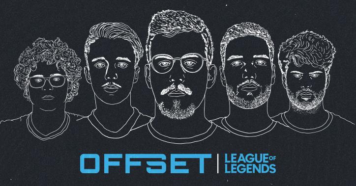 OFFSET apresentam a nova equipa de League of Legends