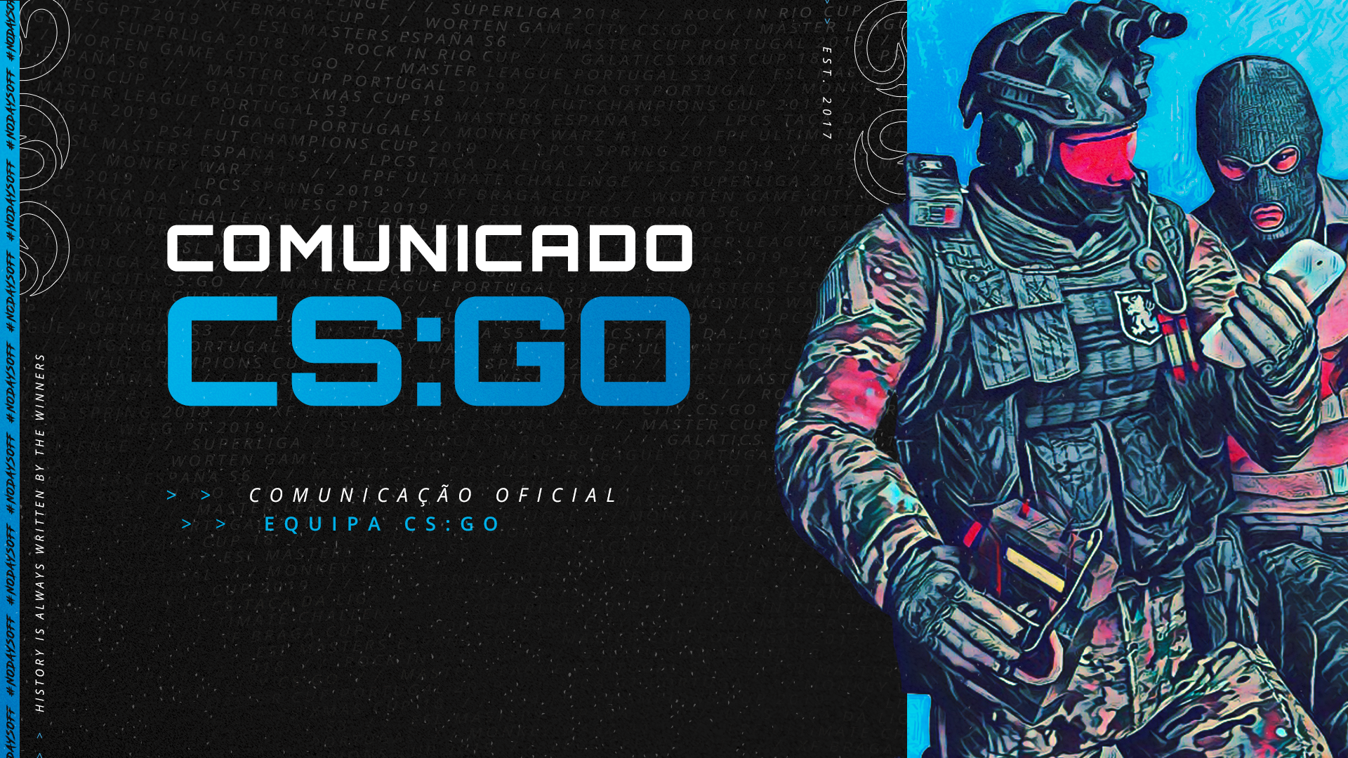 Comunicado – CSGO