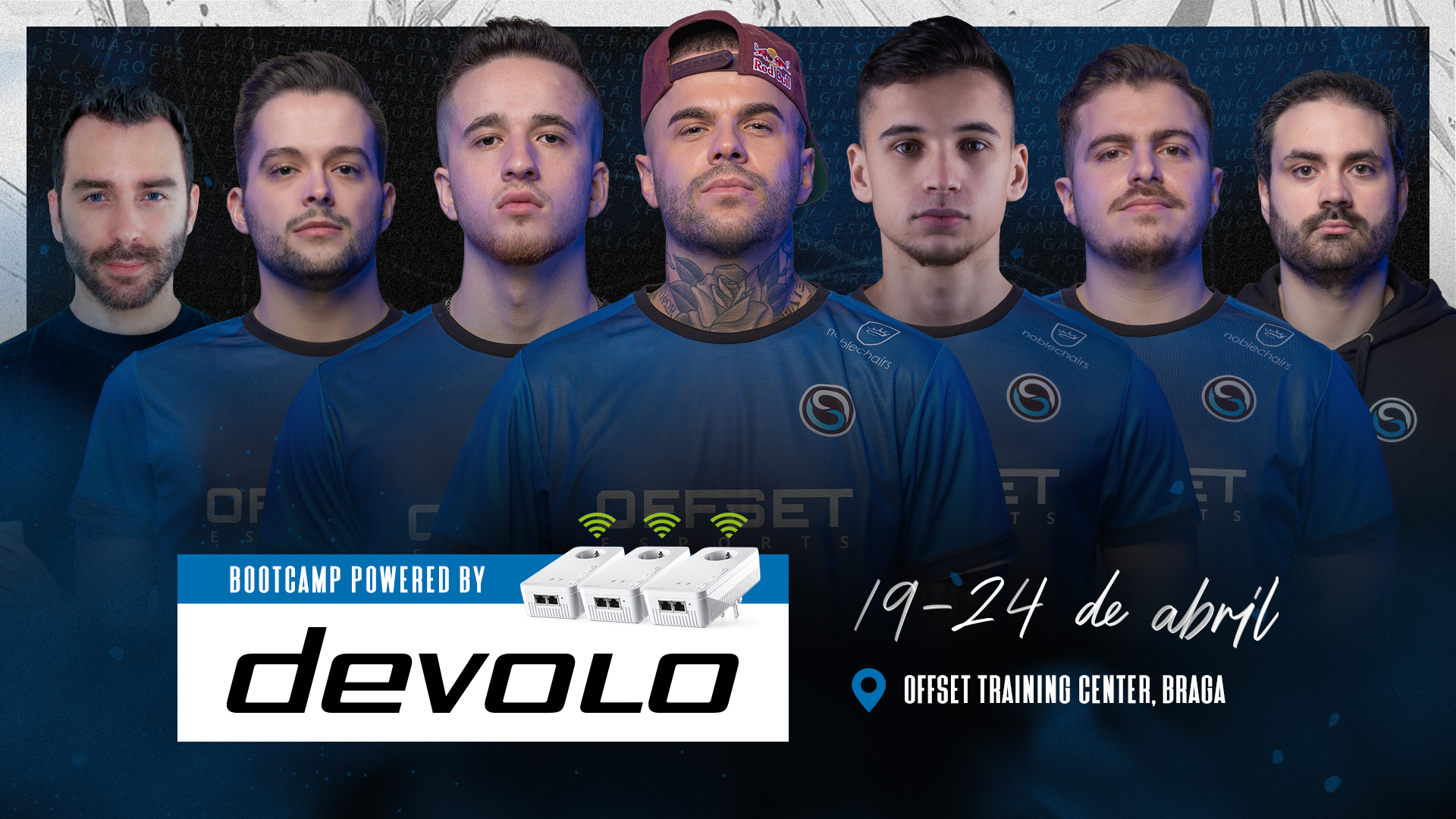 OFFSET CS:GO BOOTCAMP #1 2021 POWERED BY devolo